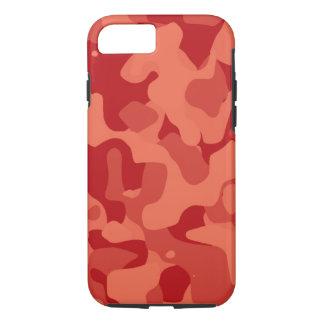 Tiefer orange starker Camoflauge iPhone 7 Kasten iPhone 8/7 Hülle
