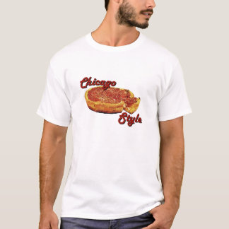 Tiefer Teller Chicagos T-Shirt
