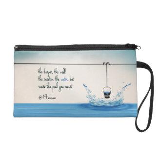 TIEFERE Wristlet-Kupplung Wristlet Handtasche
