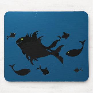 Tiefes blaues Mousepad