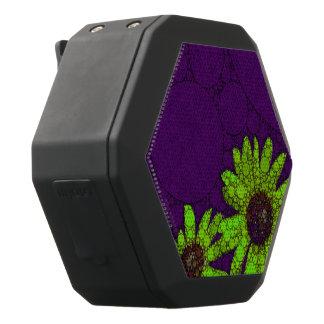 Tiefpurpurne Leuchtstoffsonnenblumen Schwarze Bluetooth Lautsprecher