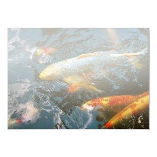 Tier - Fisch - schenken Sie Glück 12,7 X 17,8 Cm Einladungskarte