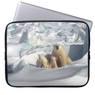 Tier-Laptop-Hülse Eisbär-CUBs arktische Laptop Sleeve