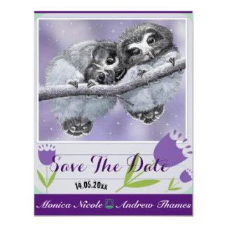 Tier-Save the Date Einladungen