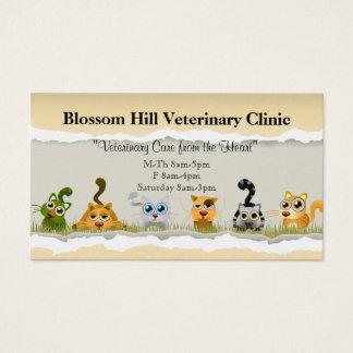 Tierärztliche Visitenkarte