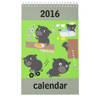 Tiercharaktere Kalender
