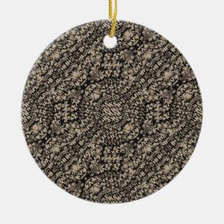 Tierdruck-Camouflage-Muster Keramik Ornament