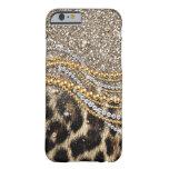 Tierdruck des schönen trendy Leopard-Imitats Barely There iPhone 6 Hülle