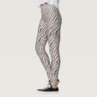 Tierdruck - Zebra - Gamaschen Leggings