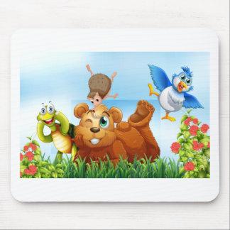 Tiere Mousepad