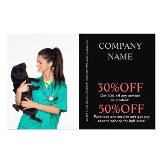 Tierhaustierservice-Tierarzt Personalisierte Flyer