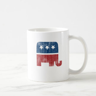 tierischer elefant Republikaner der Wahl Kaffeetasse