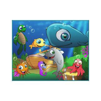 Tierkönigreich - Meer Leinwanddruck