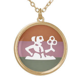 Tierkreis-Astrologie-Symbol: BirthStar Goodluck Vergoldete Kette