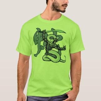 Tierkreis-Krieger: Jahr der Schlange T-Shirt