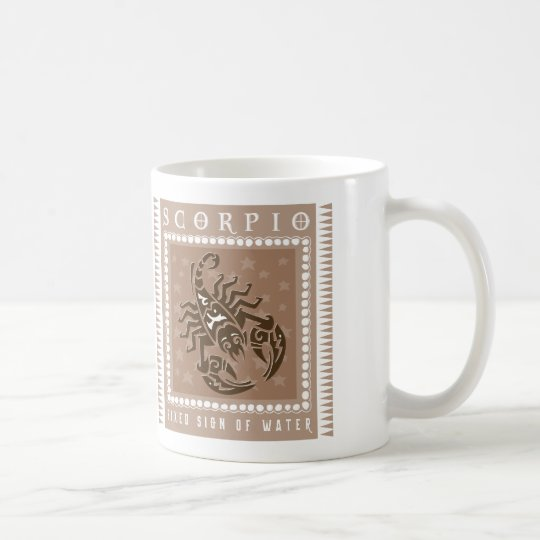 Tierkreis-Skorpions-Kaffee Tasse