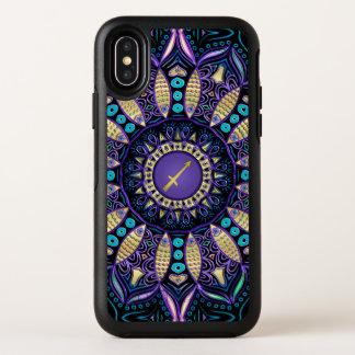 Tierkreis-Zeichen-Schütze-Mandala iPhone X Fall OtterBox Symmetry iPhone X Hülle