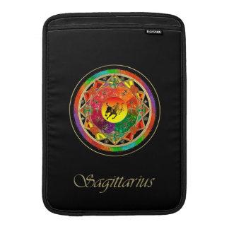 Tierkreis-Zeichen-Schütze-Mandala MacBook Air Sleeve