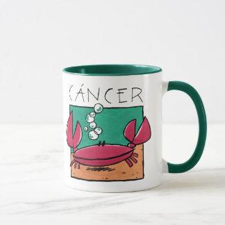 Tierkreis zerteilt Krebs Tasse