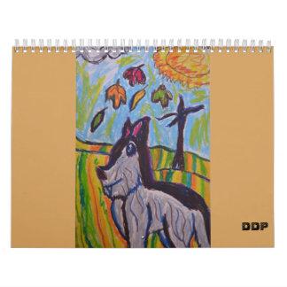 Tierkunst Wandkalender