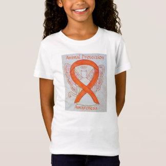 Tierschutz-Bewusstseins-Band-Engels-Shirt T-Shirt