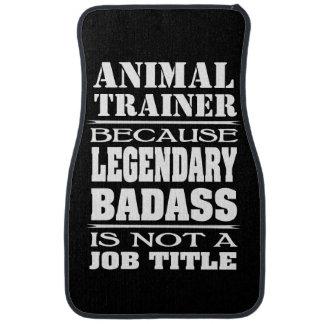 Tiertrainer legendäres Badass nicht eine Autofußmatte