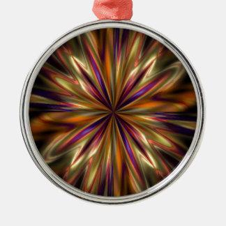 Tiger-Anemone Silbernes Ornament