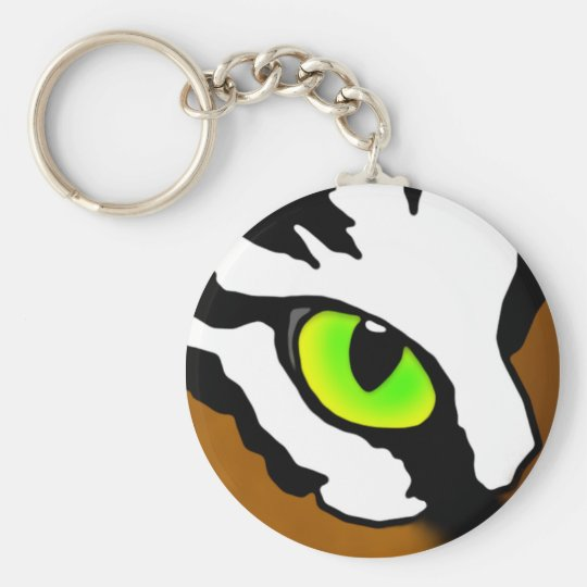Tiger-Auge Keychain Schlüsselanhänger