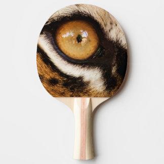 Tiger-Auge - Klingeln Pong Paddel Tischtennis Schläger
