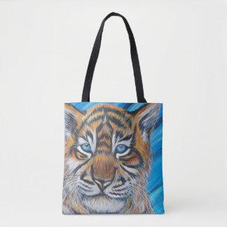 Tiger-Blau Tasche