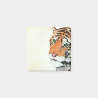 Tiger (Bleistift durch Kunst Kimberlys Turnbull) Post-it Klebezettel