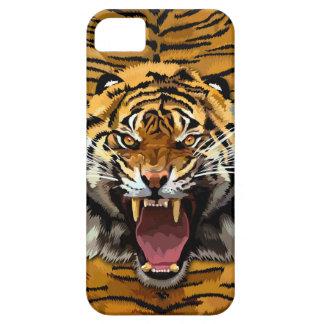 Tiger-Brüllen-Telefon-Kasten Barely There iPhone 5 Hülle