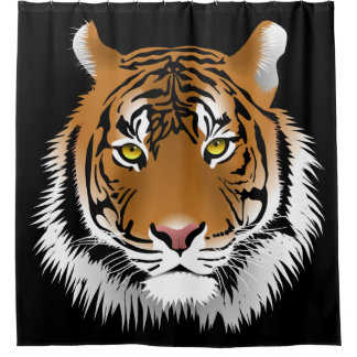 Tiger-Duschvorhang Duschvorhang