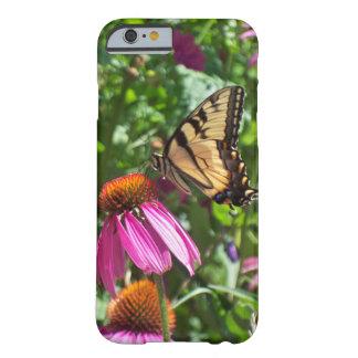 Tiger-Frackschmetterling u. -Blumen Barely There iPhone 6 Hülle