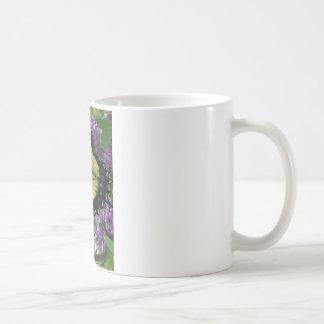 Tiger-Frackschmetterlings-Flieder-Foto Kaffeetasse