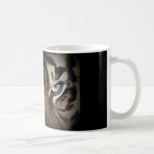 Tiger-Gesicht Kaffeetasse