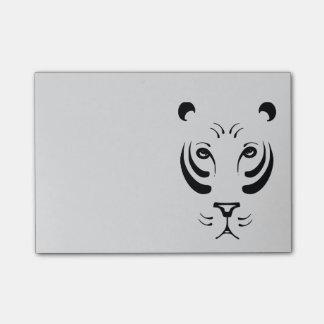 Tiger-Gesicht Post-it Klebezettel