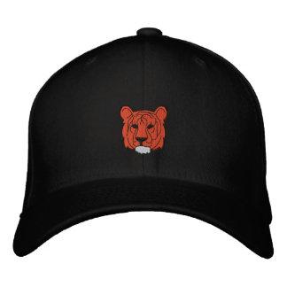 Tiger gestickter Hut