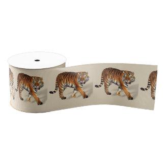 """Tiger-Gewohnheit 3"""" weit Grosgrain-Band Ripsband"""