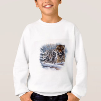 Tiger im Nebel Sweatshirt