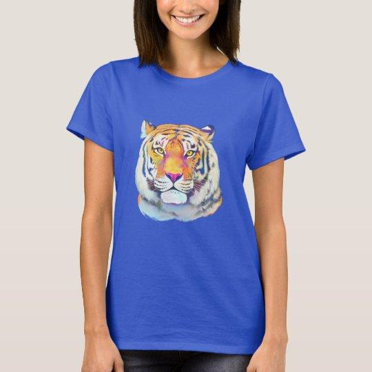 Tiger in den Farben T-Shirt