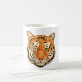 Tiger-Kopf Kaffeetasse