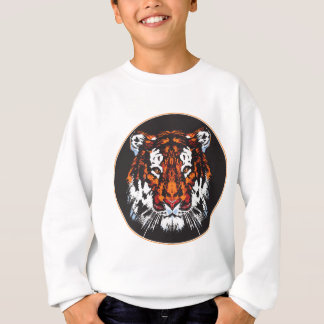 Tiger-Kopf Sweatshirt