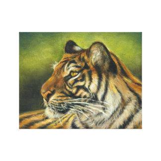 "Tiger-Leinwand-Druck 11"" x 14"" Leinwanddruck"