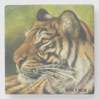 Tiger-MarmorUntersetzer Steinuntersetzer