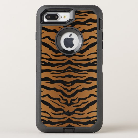 Tiger-Muster OtterBox Defender iPhone 7 Plus Hülle