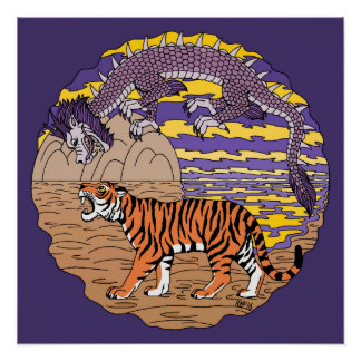 Tiger und Drache Poster