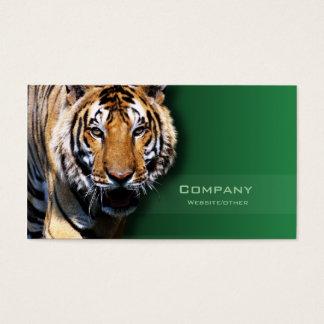 Tiger Visitenkarte
