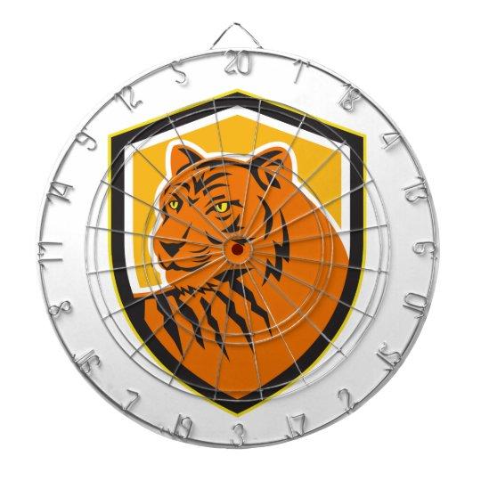 Tiger-vorderes HauptWappen Retro Dart-scheibe