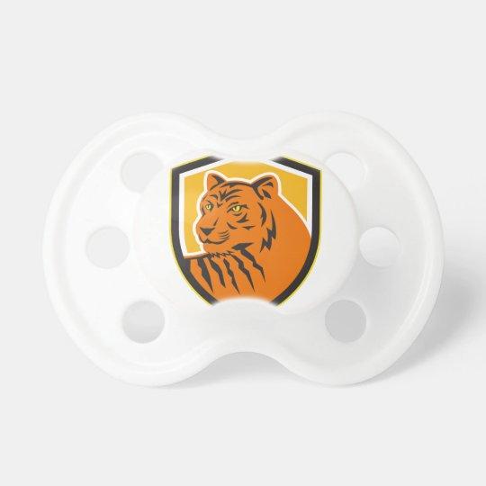 Tiger-vorderes HauptWappen Retro Schnuller